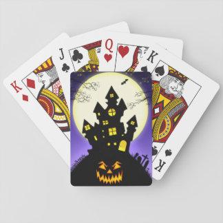 Spuk Haus, Creepy Kürbislaterne Spielkarten