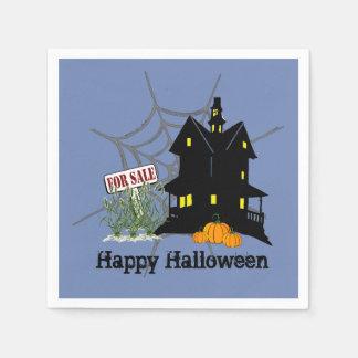 Spuk Haus für Verkaufs-Papierservietten Papierservietten