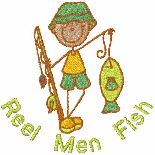 Spulen-Mann-Fische