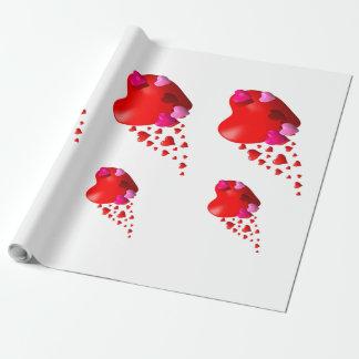 Spur der Herzen - Geschenkpapier