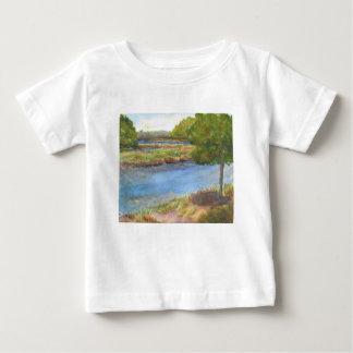 squamscott Fluss an den newfields am 31. Juli 2015 Baby T-shirt