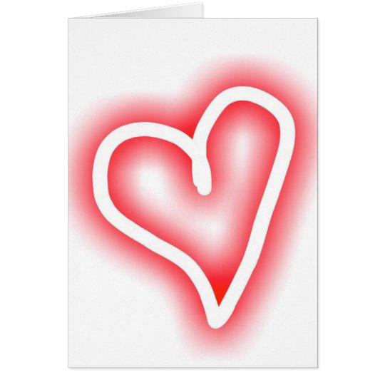 """""""Squee"""" romantische Valentinstagkarte Karte"""