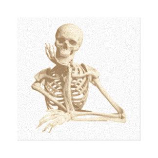 Squelette drôle toiles