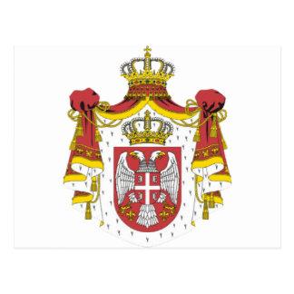 Srbija Grb/serbisches Wappen Postkarte
