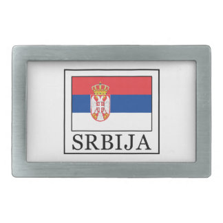 Srbija Rechteckige Gürtelschnalle