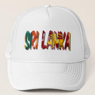 Sri Lanka Wort mit Truckerkappe