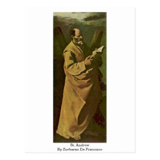 St Andrew durch Zurbaran De Francisco Postkarte