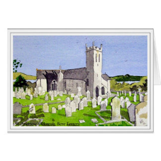 St Andrew Kirche, Gerste Ferrers, Devon Karte