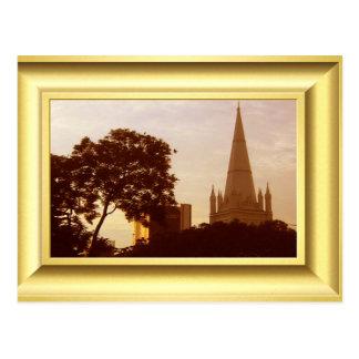 "St Andrew"" s-Kathedrale Singapur am Postkarte"