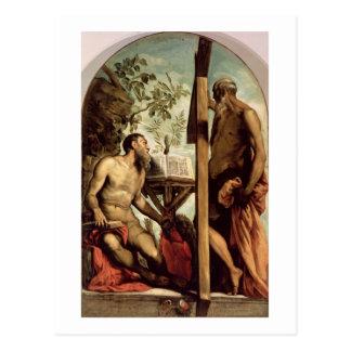 St Andrew und St Jerome Postkarte