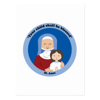 St Anne Postkarte