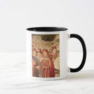 St Augustine, das für Mailand abreist Tasse