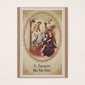 St. Ausländischer Schutzpatron von Visitenkarte