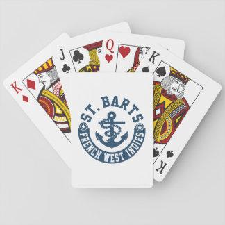 St- BartsFranzösische Antillen Spielkarten
