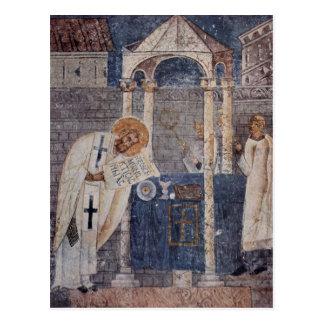 St.-Basilikum-Ikone Postkarte