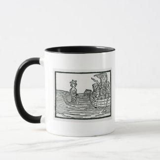 St. Brendan und die Sirene Tasse