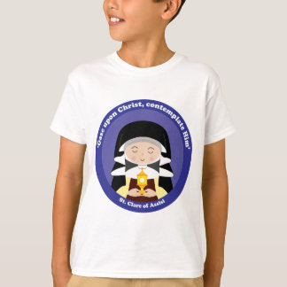 St. Clare von Assisi T-Shirt