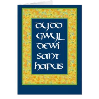 St David Tagesnarzissen-Gruß-Karte (Waliser) Grußkarte