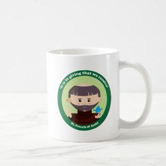 St Francis von Assisi Kaffeetasse
