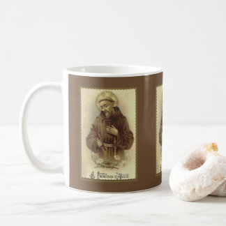 St Francis von Assisi-Schutzpatron der Tiere Kaffeetasse