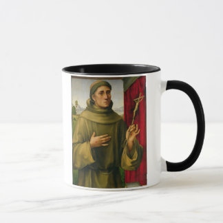 St Francis von Assissi, c.1490 (Tempera auf Tasse