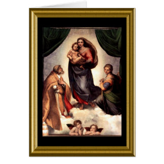 St- Francissegen - Weihnachten Karte
