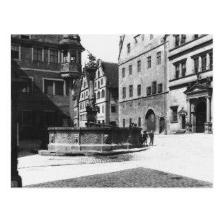St. Georgs- Brunnen Postkarte