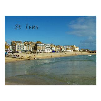 St. Ives Cornwall England Foto Postkarte
