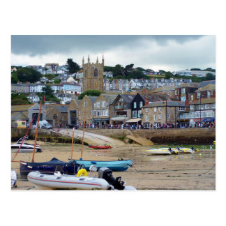 St. Ives Cornwall England Postkarte