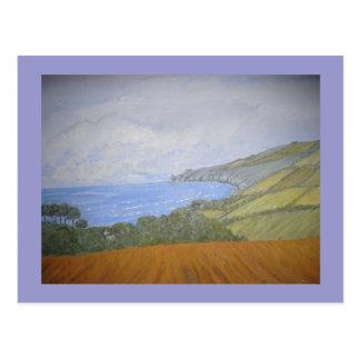 St. Ives Cornwall Postkarte