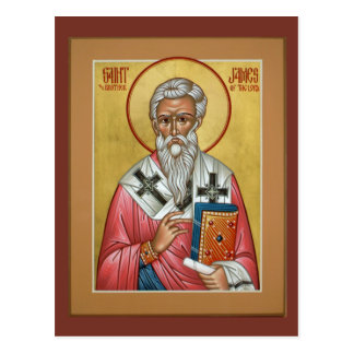 St James, Bruder des Lords Prayer Card Postkarte