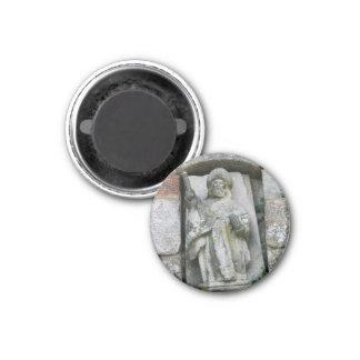 St James in Outeiro Magneten Runder Magnet 2,5 Cm