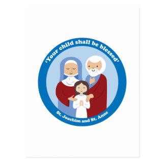 St. Joachim und St Anne Postkarte