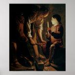 St Joseph, le charpentier Affiches