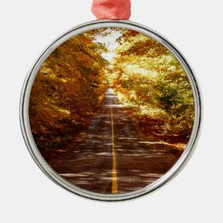 St- Josephinsel-Fall-Ausflug Silbernes Ornament