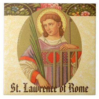 St. Lawrence von Rom (P.M. 04a) Keramikfliese