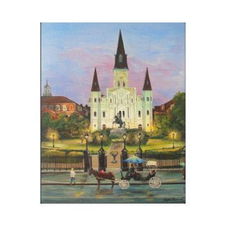 "St. Louis Cathederal 16"" x 20"" Leinwand-Druck Leinwanddruck"