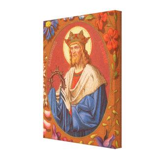 St. Louis IX der König (P.M. 05) Leinwanddruck