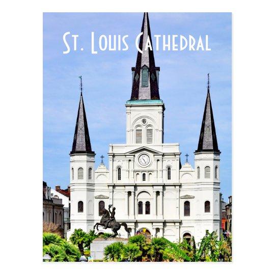 St.- Louiskathedrale Postkarte