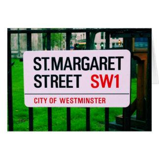 St- Margaretstraße - Westminster Karte