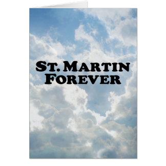 St Martin für immer - grundlegend Karte