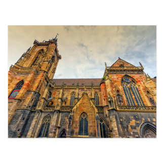 St Martin Kirche, Colmar, Frankreich Postkarte