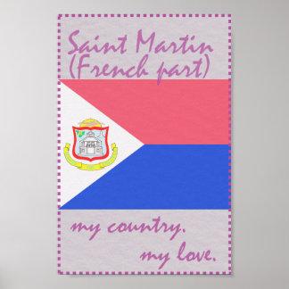 St Martin mein Land meine Liebe Poster