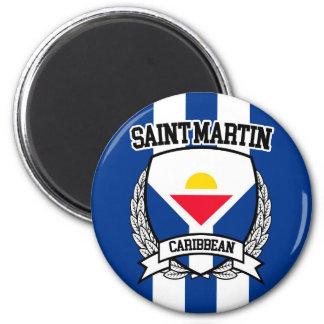St Martin Runder Magnet 5,7 Cm