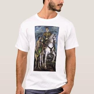 St Martin und der Bettler T-Shirt