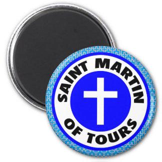 St Martin von Ausflügen Runder Magnet 5,1 Cm