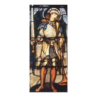 St Michael durch Burne Jones, Vintager Erzengel 10,2 X 23,5 Cm Einladungskarte