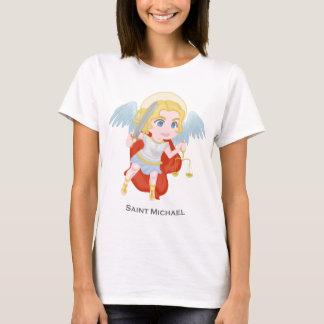 St- Michaelerzengel-niedlicher Katholischer T-Shirt
