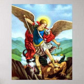 St- Michaelerzengel-Plakat San Miguel Arcangel Poster