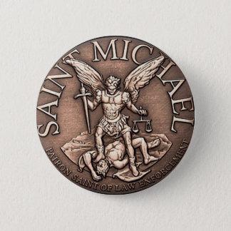 St- Michaelknopf Runder Button 5,7 Cm